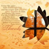 Word: Give Thanks!