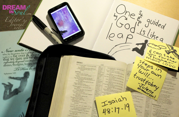 Make a Leap Towards God's Dreams For Your Life