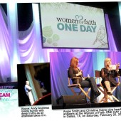 Ministry Spotlight: Dream Deeper & Live Without Fear - Inspiration from Women of Faith ONE DAY in Dallas