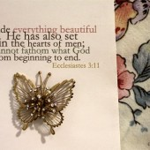 Word: Everything Beautiful In Its Time Ecclesiastes 3:11