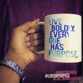Live On Purpose: New Dream in Soul Inspirational Mugs Based on Your Favorite Apparel Designs